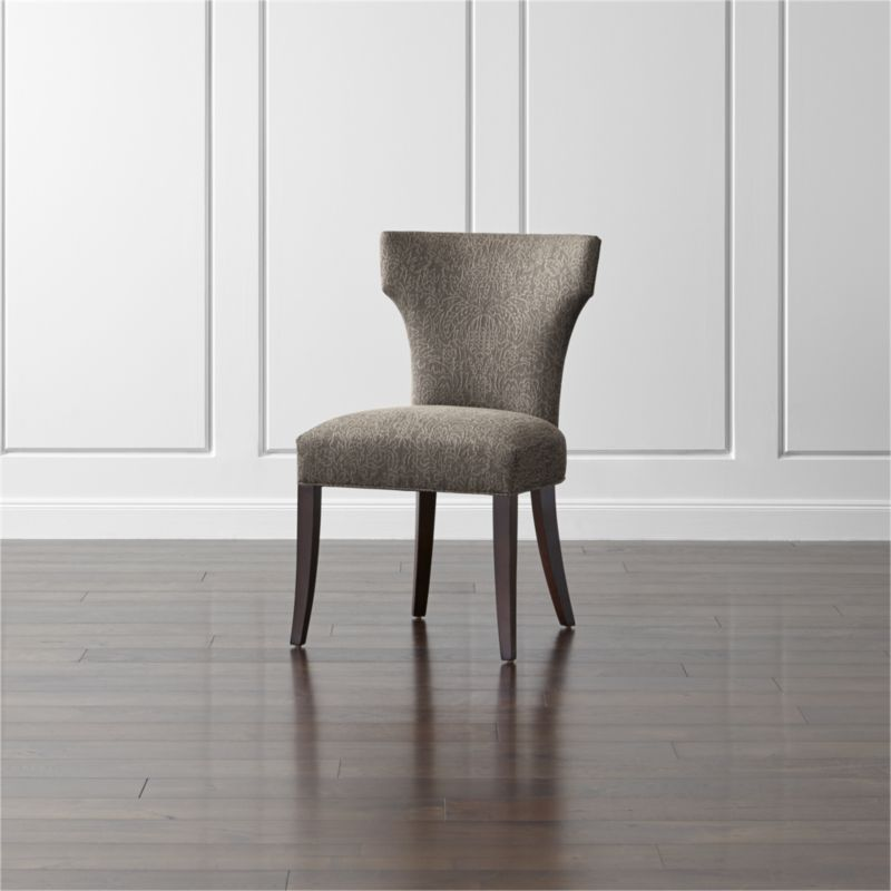 Sasha Upholstered Dining Chair in Dining Chairs Reviews Crate