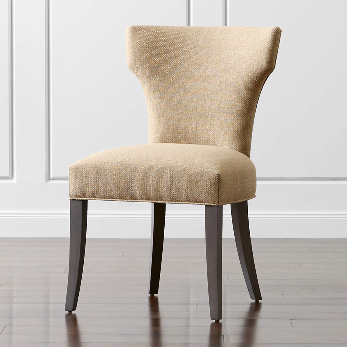 Sasha Upholstered Dining Side Chair Reviews Crate And Barrel