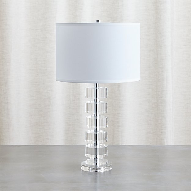 Sasha Crystal Table Lamp Reviews Crate And Barrel