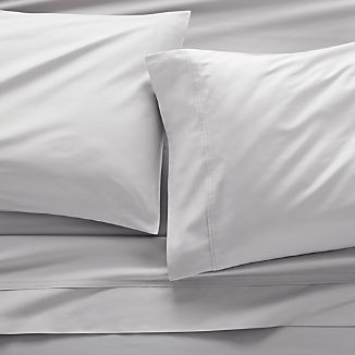 Dove Grey Sateen Sheet Sets