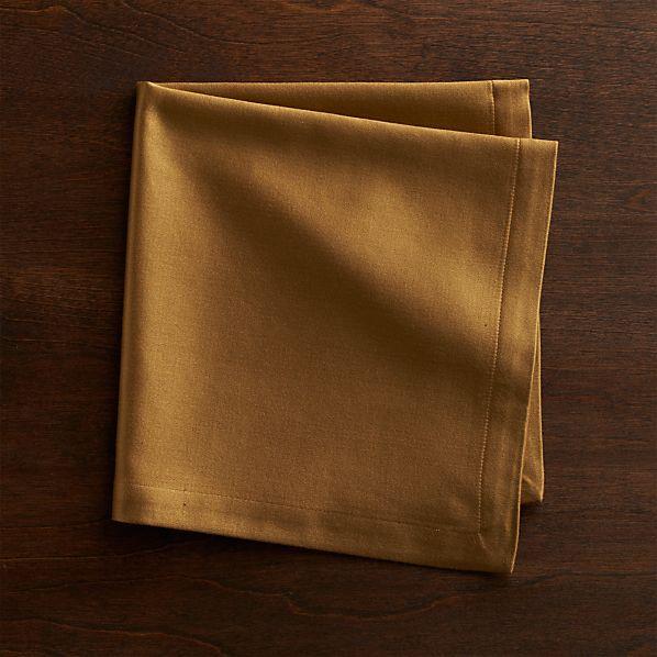 Sateen Gold Cloth Dinner Napkin