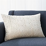 Satomi 22 x15  Pillow with Feather-Down Insert
