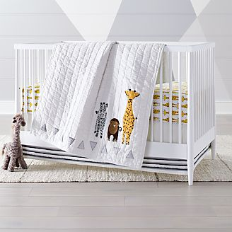 Safari Giraffe Crib Bedding 3 Piece Set