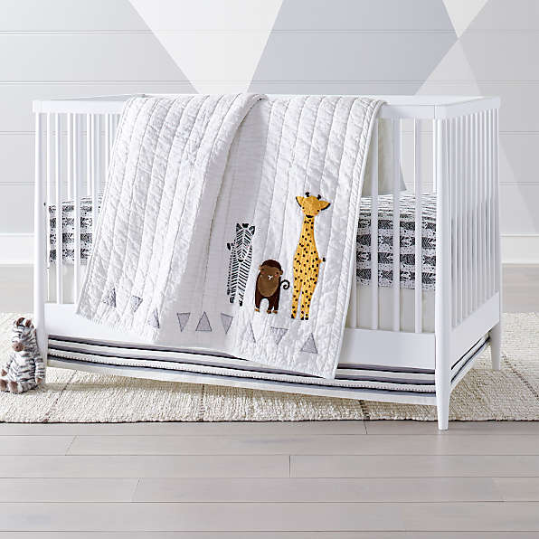 Animal Baby Bedding Crate And Barrel, Leopard Baby Bedding