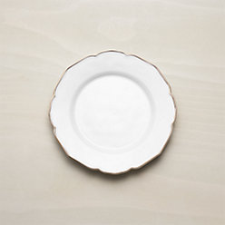 Gold Rimmed Plates + Reviews | Crate and Barrel