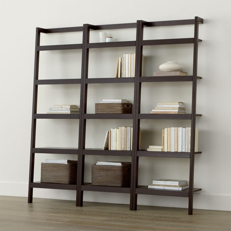 Magnificent Ladder Bookcase Crate And Barrel Largest Home Design Picture Inspirations Pitcheantrous