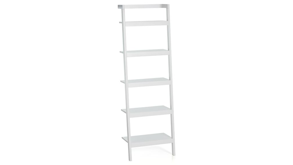 Sawyer White Leaning 245 Bookcase Reviews