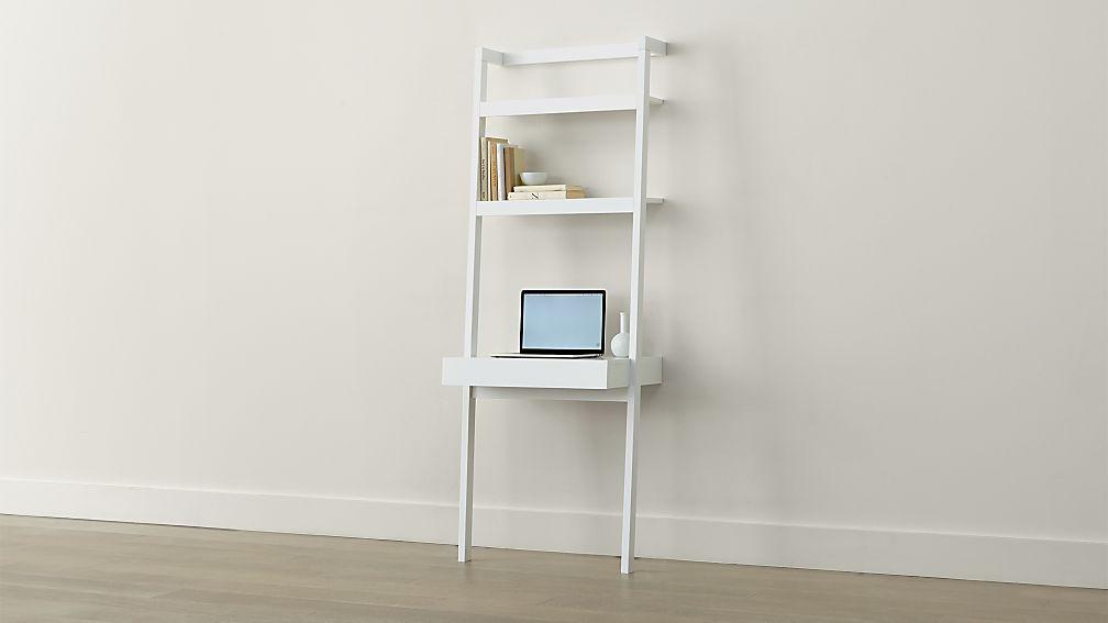 Sawyer White Leaning Desk - Image 1 of 7