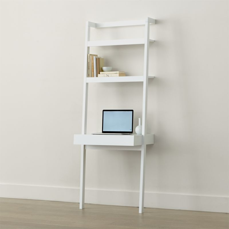 official photos fd187 ca76f Sawyer White Leaning Desk