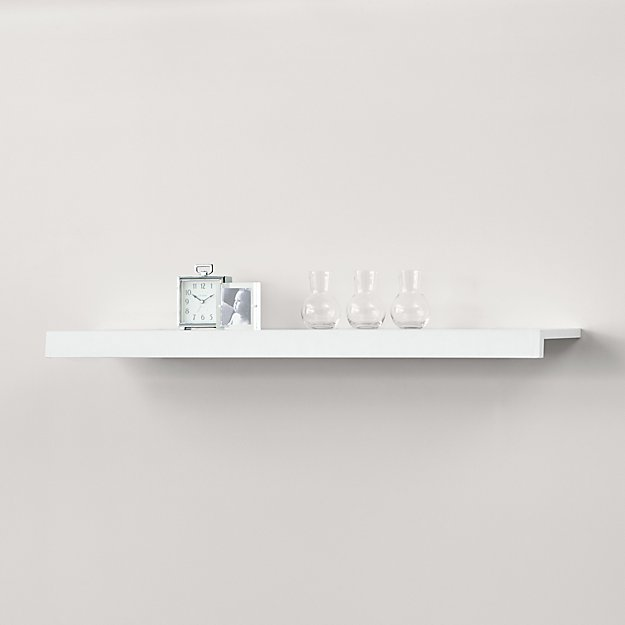 Sawyer White Media Shelf