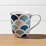Scalloped Mug