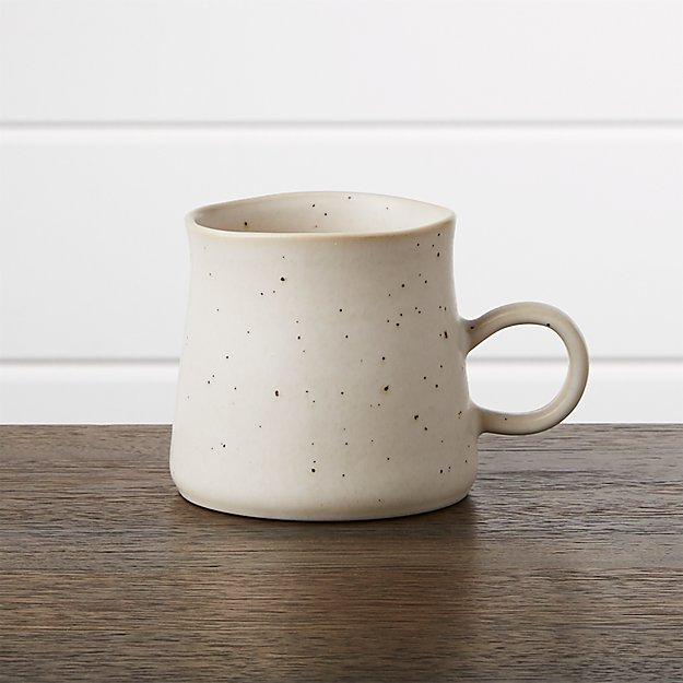 Scandi Matte White Mug