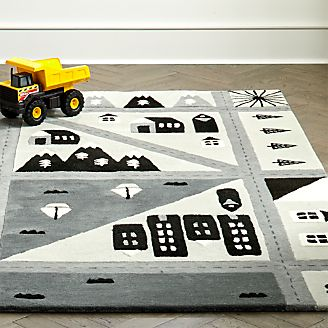 Interactive Kids Road Rug
