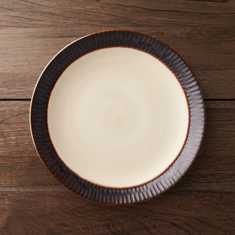 Scavo Dinner Plate & Dinner Plates: Square Oval Rectangular \u0026 Round | Crate and Barrel