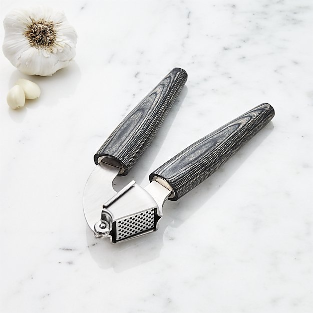 Schmidt Brothers ® Ash Garlic Press