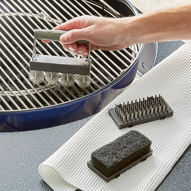 Schmidt Brothers ® 4-Piece Grill Cleaning Set