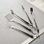 Schmidt Brothers ® Carbon 6 4-Piece Barbecue Tool Set