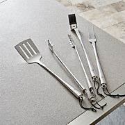 Schmidt Brothers ® 4-Piece Chrome Barbecue Tool Set