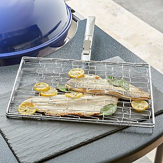 Schmidt Brothers ® BBQ Fill and Grill Flexible Grill Basket