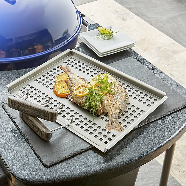 Schmidt Brothers ® BBQ Grab and Grill Flat Grill Tray