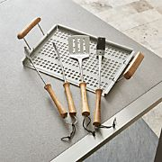 Schmidt Brothers ® 4-Piece Acacia Barbecue Tool Set