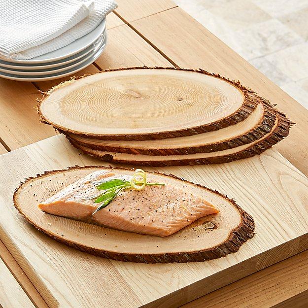 Schmidt Brothers ® White Cedar Grill Planks, Set of 4
