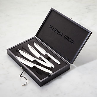 Schmidt Brothers ® Stainless Steel Jumbo Steak Knives, Set of 4