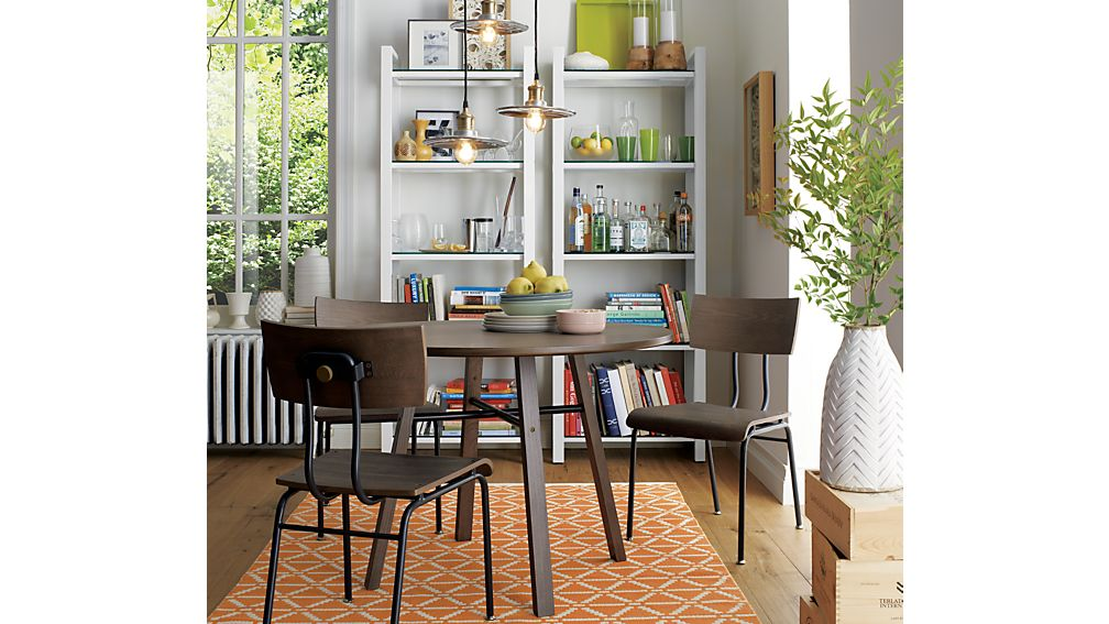 Crate and barrel dining room tables