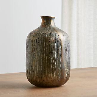 Scout Brass Vase