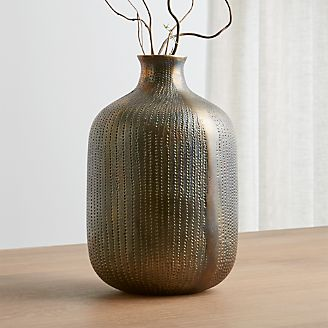 scout brass vase - Decorative Vases