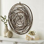 Home Wall Decor Mirror Art And Shelves Crate Barrel