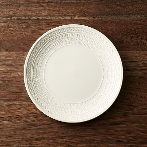 Scribe Salad Plate