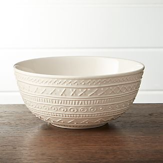 Scribe Small Serving Bowl