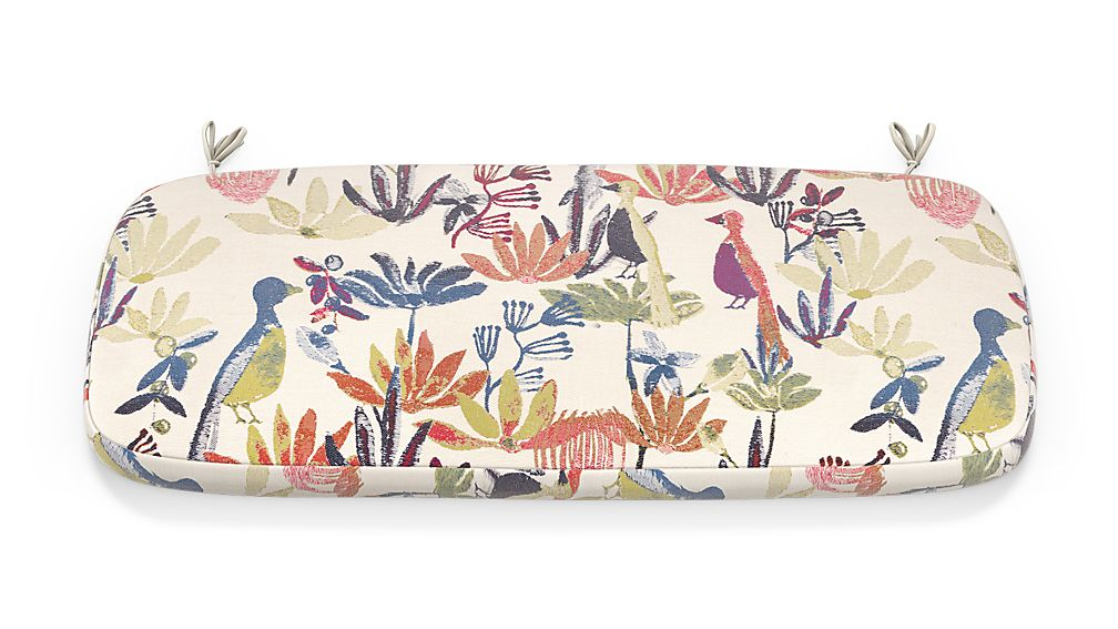 Scroll Tropic Inside Out ® Bench Cushion - Image 1 of 2