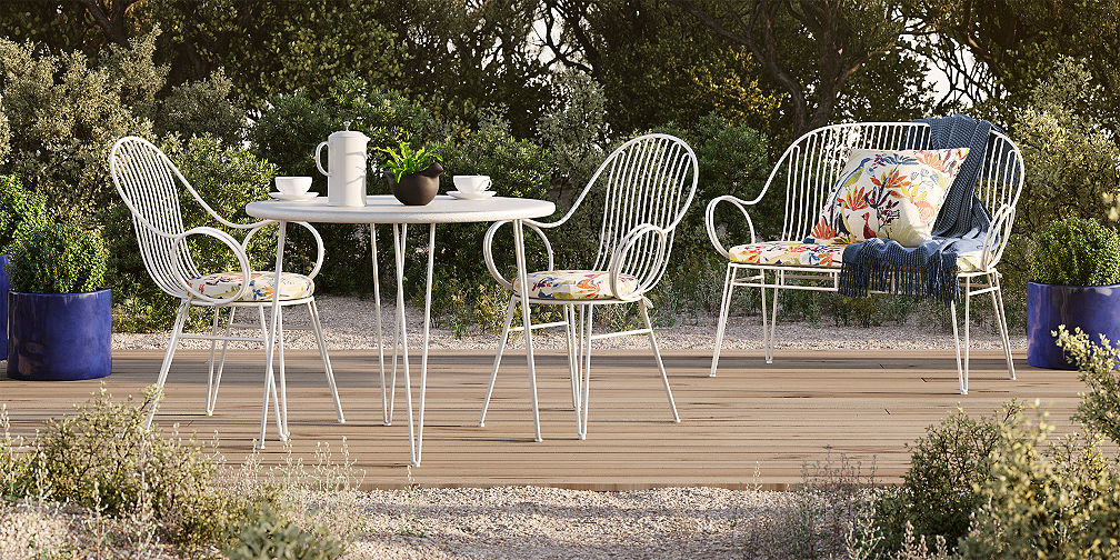 Outdoor Dining Furniture Collections Scroll Outdoor Collection
