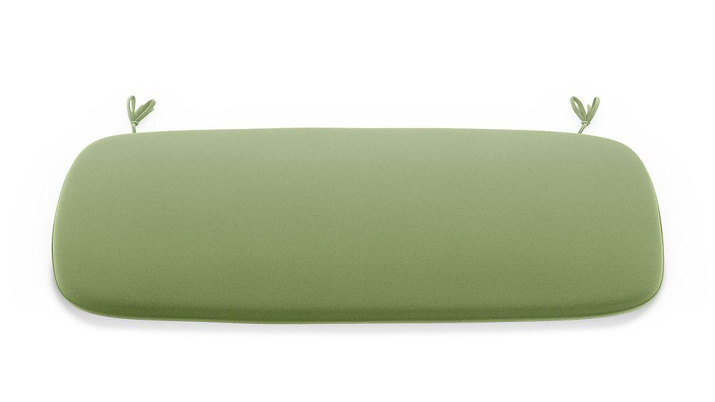 Scroll Cilantro Sunbrella ® Bench Cushion - Image 1 of 2