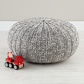 Kids Floor Pillows Bean Bag Chairs Amp Poufs Crate And Barrel