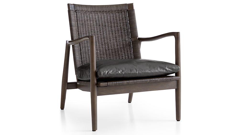 Sebago Chair with Leather Cushion