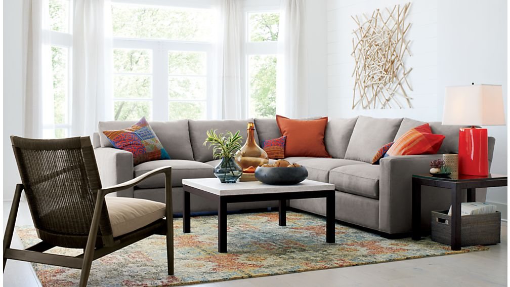 Crate And Barrel Living Room Sofas Conceptstructuresllccom