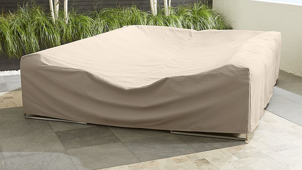Outdoor Large Sectional Cover Reviews Crate And Barrel