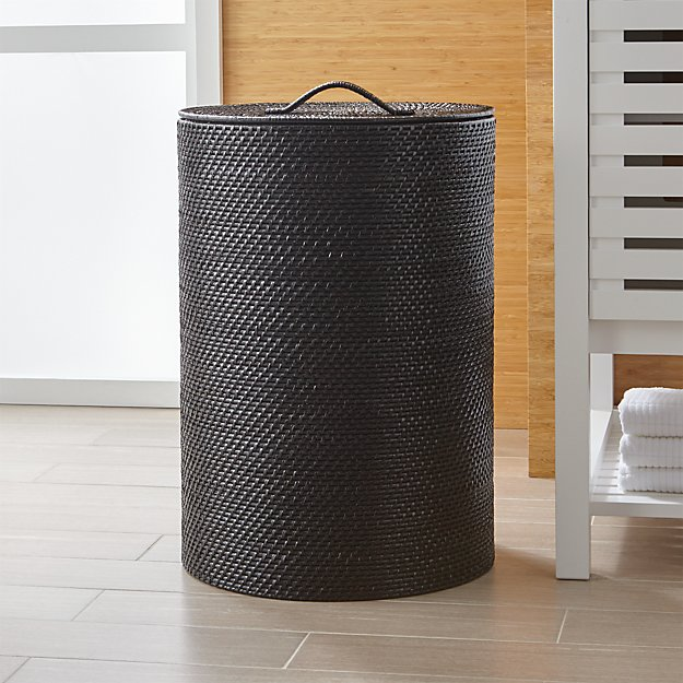 Sedona black hamper crate and barrel - Superhero laundry hamper ...
