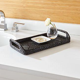 Sedona Black Vanity Tray