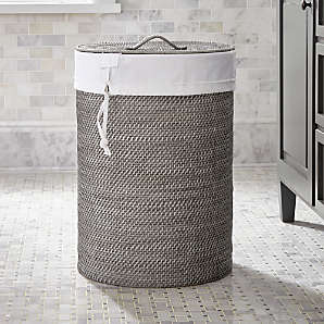 Laundry Baskets And Hampers Crate And Barrel