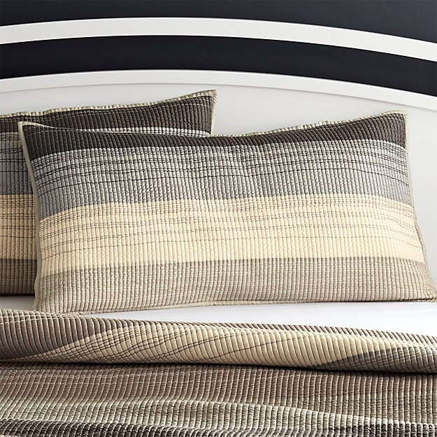Sedona Grey King Sham