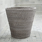 Sedona Grey Tapered Waste Basket/Trash Can