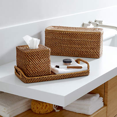 Sedona Honey Bath Accessories Crate And Barrel
