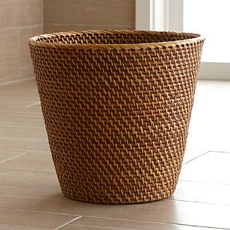 Bathroom Trash Cans Crate And Barrel