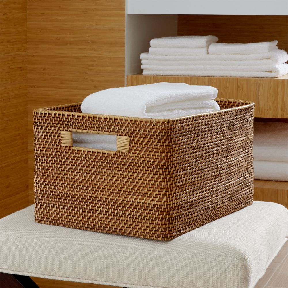 Sedona Honey Large Tote - Crate and Barrel