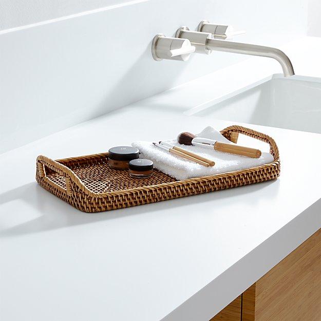 sedonahoneyvanitytrayshs16 sedonahoneybathacsrsfc16 sedonabathaccessoriesjb10 - Bathroom Accessories Vanity Tray