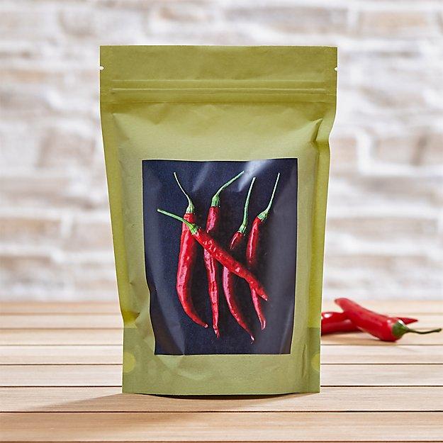 Hot Pepper Seed Bag